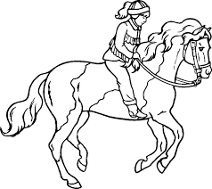 Horse Clipart Coloring Pages For Free Download And Use Images In