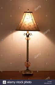 Tischlampe Im Schlafzimmer Stockfoto Bild 68265969 Alamy