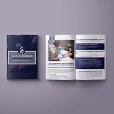 One Page Brochure Design Inspiration Karimacreative Brochure Design For A Wellness Company By