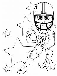 Printable Football Coloring Pages with regard to Motivate in ...