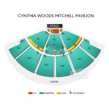 Cynthia Woods Seating Chart Cynthia Woods Mitchell Pavilion Concert Tickets And Seating