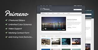 website template video primero video site template by progressionstudios themeforest