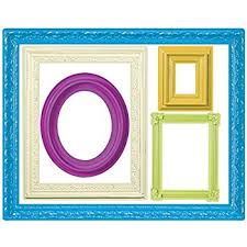Wallies Wall Decals Colorful Frames Wall Stickers