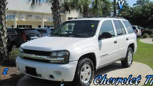 Trailblazer - 2002 Chevrolet Trailblazer White 4.2L Vortec - YouTube