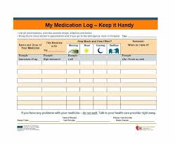Dog Friendly Over The Counter Medications Chart 58 Medication List Templates For Any Patient Word Excel Pdf