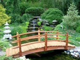 build a japanese garden bridge garden