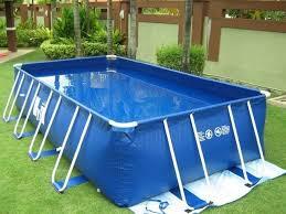 rectangular above ground pools. Fine Pools Portable Rectangular Above Ground Swimming Pools And Above