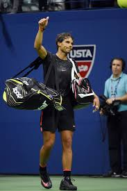Nadal says farewell to the 2015 US Open after losing to Fabio Fognini |  Tennis players, Tennis videos, Tennis lessons