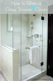 best way to clean shower glass if you love a glass shower but dread the soap best way to clean shower glass