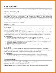 Emt Resume Sample Gallery Of 60 Icu Nurse Resumes Emt Resume Rn Samples S Sevte 55