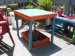 patio furniture transforms into diy bike powered generator