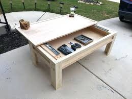 top als woodworking tools coffee table with storage plans made a sliding home design book plants