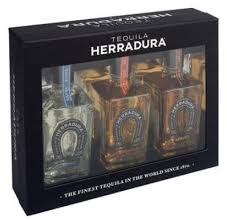 herradura three 375ml bottle gift set silver reposado and añejo 375ml
