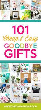 easy goodbye gifts