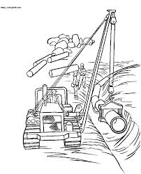 construction equipment coloring pages bulldozer page free printable constru