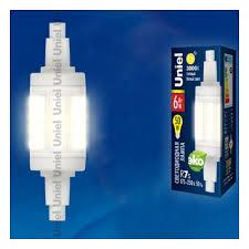 Светодиодная <b>лампа LED</b>-<b>J78</b>-<b>6W</b>/<b>WW</b>/<b>R7s</b>/<b>CL PLZ06WH</b> ...