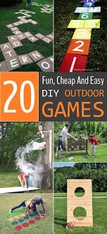 homemade outdoor games for kids. Rundup Of Extremely Fun DIY Outdoor Games That Are Not Just Limited To Kids. Homemade For Kids A