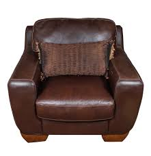 Brown Armchair Brown Faux Leather Armchair Ebth