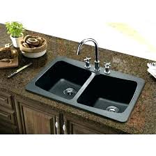 How Black Composite Sink Kitchen Sinks To Clean A Granite 1 Single Bowl Vs  Stainless Steel  I79