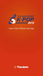How To Vote On Gaon Chart 5th Gaon Chart Kpop Awards Official Free Download