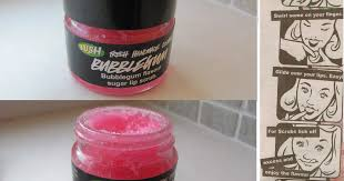 lush bubblegum lip scrub s j m w e l l fashion beauty lifestyle blog