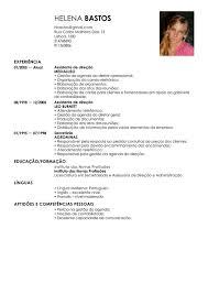 Corriculo Exemplo Modelo De Curriculum Assistente Administrativo Exemplo De