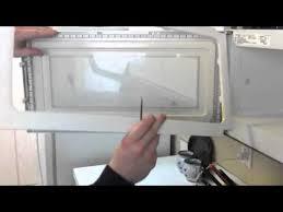 over the range microwave oven door repair help