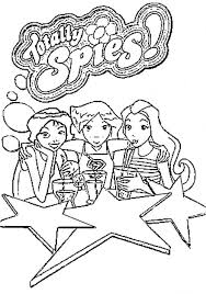 totally spies coloring pages 3 totally spies coloring pages coloringpages1001 com on totally spies coloring pages