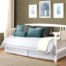 the front of this pop up is what i m talking about white wooden white day bed wooden daybed uk
