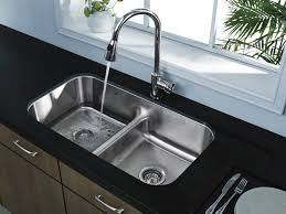 image of deep stainless steel kitchen sinks