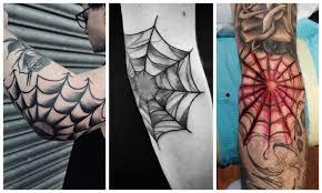 тату паутина на локте значение у мужчин и женщин Tattooassist