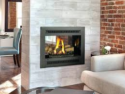 indoor outdoor fireplace cost see thru gas australia double sided