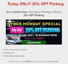 405 airport parking coupon code