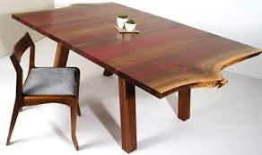 purple heart wood furniture. Eric Manigian Walnut Dining Table 1 Thumb Solid Absolutely Gorgeous With Purple Heart Wood Furniture