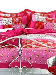 hot pink duvet cover double luxury vintage pink fl cotton duvet coverblack and fuchsia covers hot