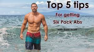 How to Get Six Pack Abs - Top 5 Tips for Ripped Six Pack Abs - YouTube
