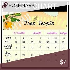 Free People Size Chart Fp Size Guide Free People Dresses
