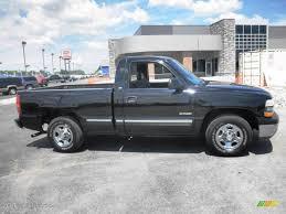 1999 Onyx Black Chevrolet Silverado 1500 Regular Cab #82500897 ...