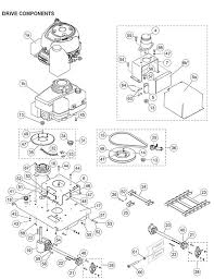 68397 mount hydraulic motor pro caster diagram
