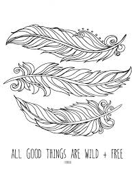 Fun Coloring Pages Feather Free Printable Coloring Pages For Older