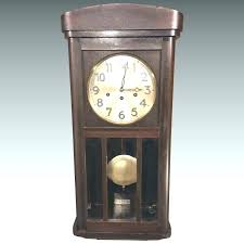 vintage wall clock with pendulum chime wall clock vintage wall clock with chimes runs strikes chimes vintage wall clock with pendulum