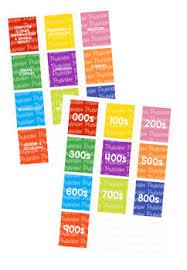 Bundle Non Fiction Spine Labels Avery A4 L7651