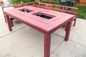 ice box coffee table patio table with built in ice boxes how to build box coffee ice box coffee table