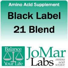 jo mar labs amino acids black label pure form 21 blend black label 21 blend