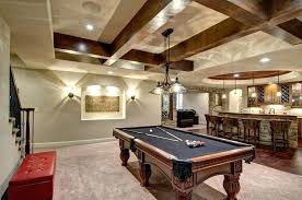 basement game room ideas. Brilliant Ideas Basement Game Room Traditional With Exposed Beam Wall Sconce  Pendant Light Video  Entertainment  In Basement Game Room Ideas