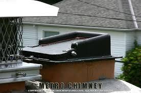 chimney flue damper repair fireplace flue damper installation top closing damper after installation by metro chimney
