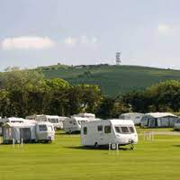 staying overnight at caravan parks