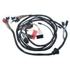 mustang headlight wiring harness w o trachometer or fog lights 1968 headlight wiring harness out tachometer and fog lights 1968
