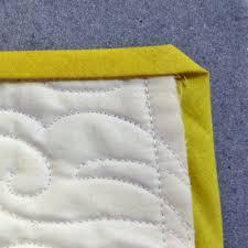 Quilting Basics: How to Fold a Mitered Corner | WeAllSew & fold to stitch line Adamdwight.com