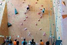 climbing is now an olympic sport meet